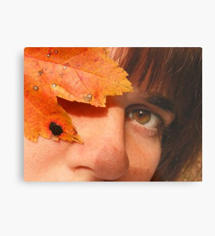 Autumn Queen Metal Print