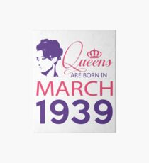 It's My Birthday 79. Made In March 1939. 1939 Gift Ideas. Art Board