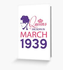 It's My Birthday 79. Made In March 1939. 1939 Gift Ideas. Greeting Card