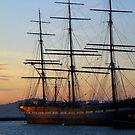 Balclutha ship in San Francisco Aquatic Park by Igor Pozdnyakov