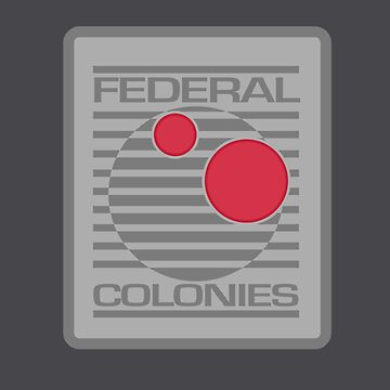 Federal Colonies - Inspired by Total Recall by WonkyRobot