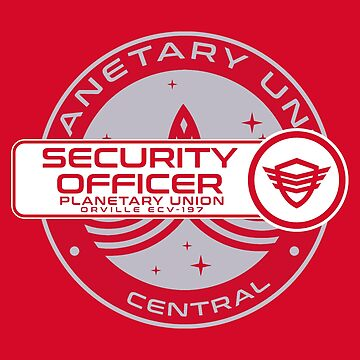 Planetary Union Security Officer - Inspired by The Orville by WonkyRobot