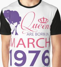 It's My Birthday 42. Made In March 1976. 1976 Gift Ideas. Graphic T-Shirt