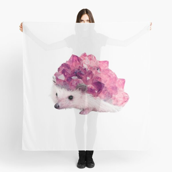 Lucky Mineral hedgehog by Alice Monber Scarf