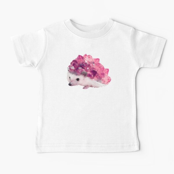 Lucky Mineral hedgehog by Alice Monber Baby T-Shirt