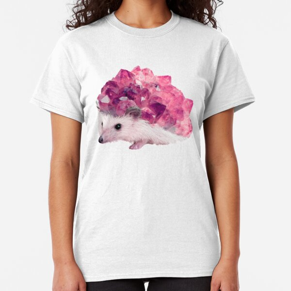 Lucky Mineral hedgehog by Alice Monber Classic T-Shirt