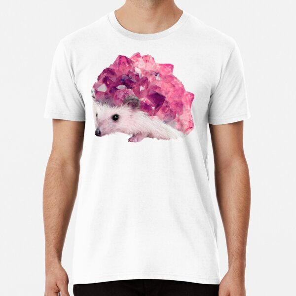 Lucky Mineral hedgehog by Alice Monber Premium T-Shirt