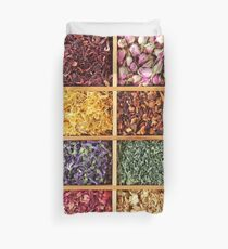 Dried flowers Duvet Cover