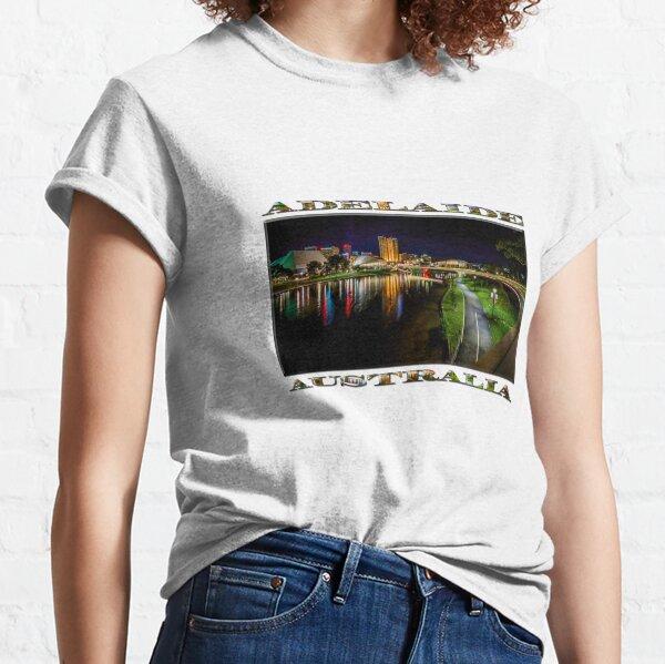 Adelaide Riverbank at Night IV Classic T-Shirt