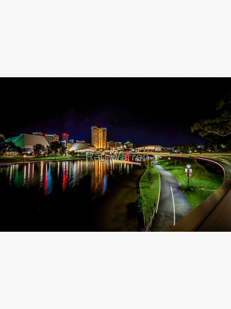 Adelaide Riverbank at Night IV by RayW