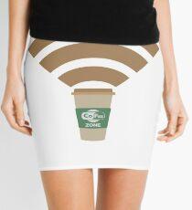 Cofee Zone Mini Skirt
