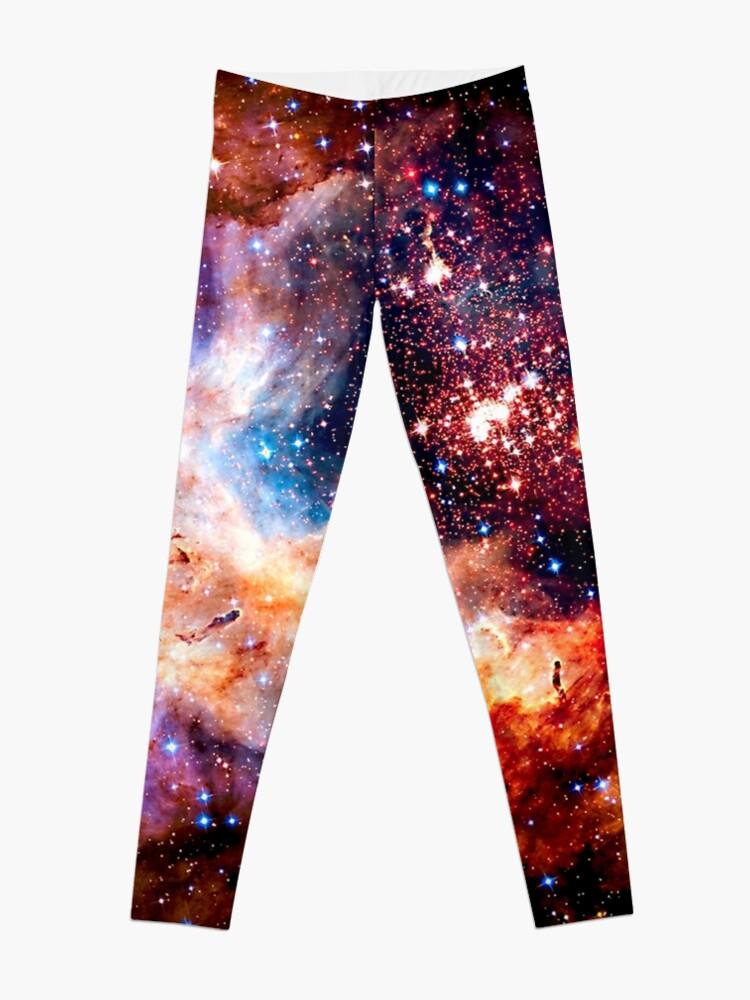 a53462109649c Kosmische Verbindung, Galaxie, Raum, Nebel, Sterne, Planet, Universum, |  Leggings