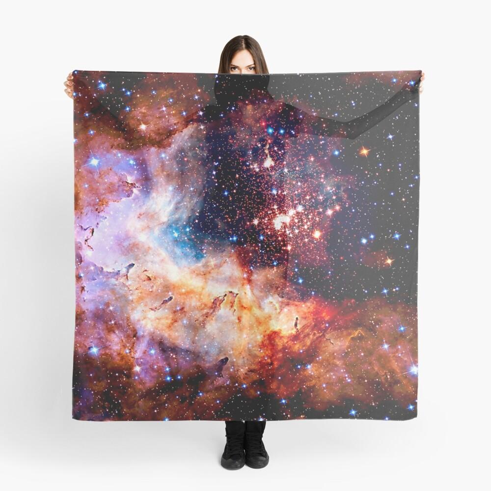 Kosmische Verbindung, Galaxie, Raum, Nebel, Sterne, Planet, Universum, Tuch