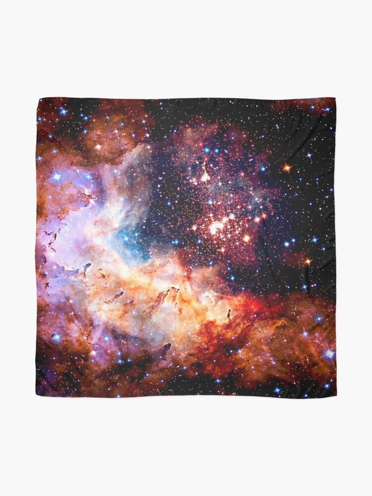 Alternative Ansicht von Kosmische Verbindung, Galaxie, Raum, Nebel, Sterne, Planet, Universum, Tuch
