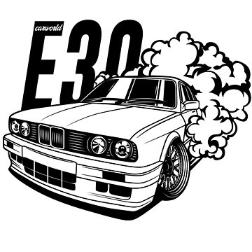 E30 Best Shirt Design by CarWorld