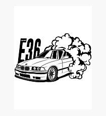e36 design illustration photographic prints redbubble BMW E36 Tuning e36 best shirt design photographic print