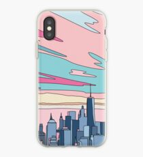 City sunset by Elebea iPhone Case