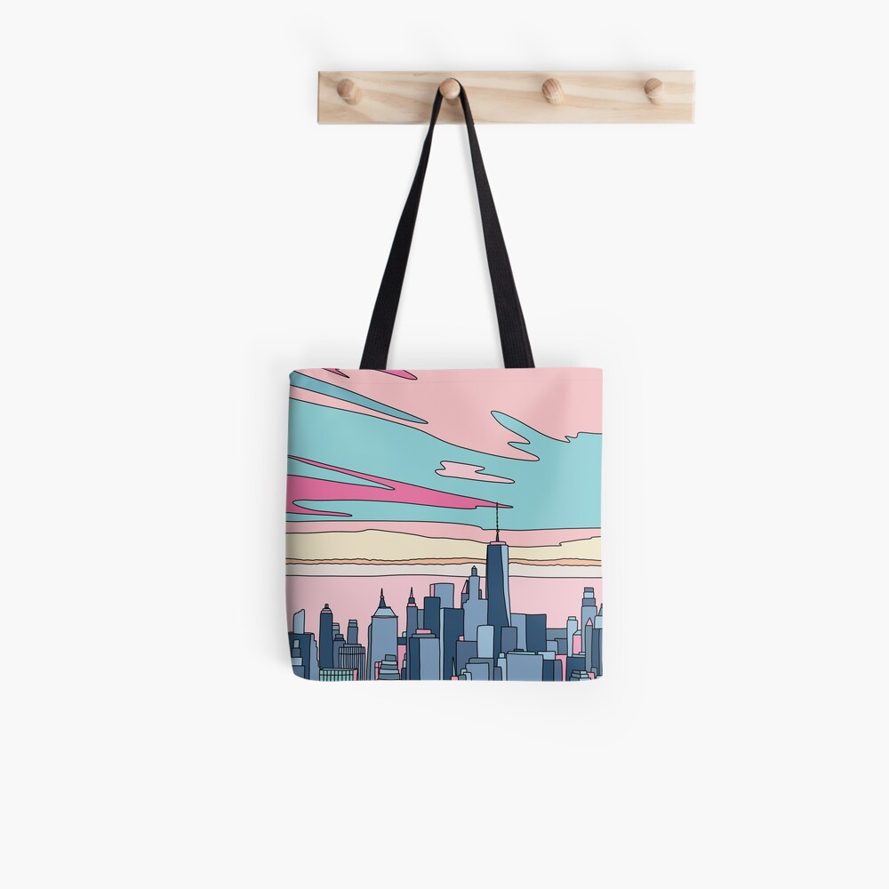 City sunset by Elebea Tote Bag