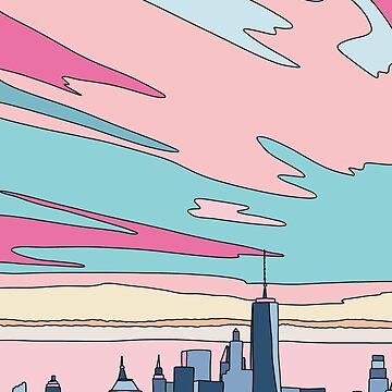 Stadtsonnenuntergang bei Elebea von elebea