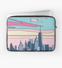 City sunset by Elebea Laptop Sleeve