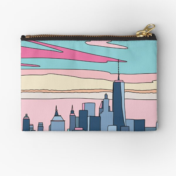 City sunset by Elebea Zipper Pouch