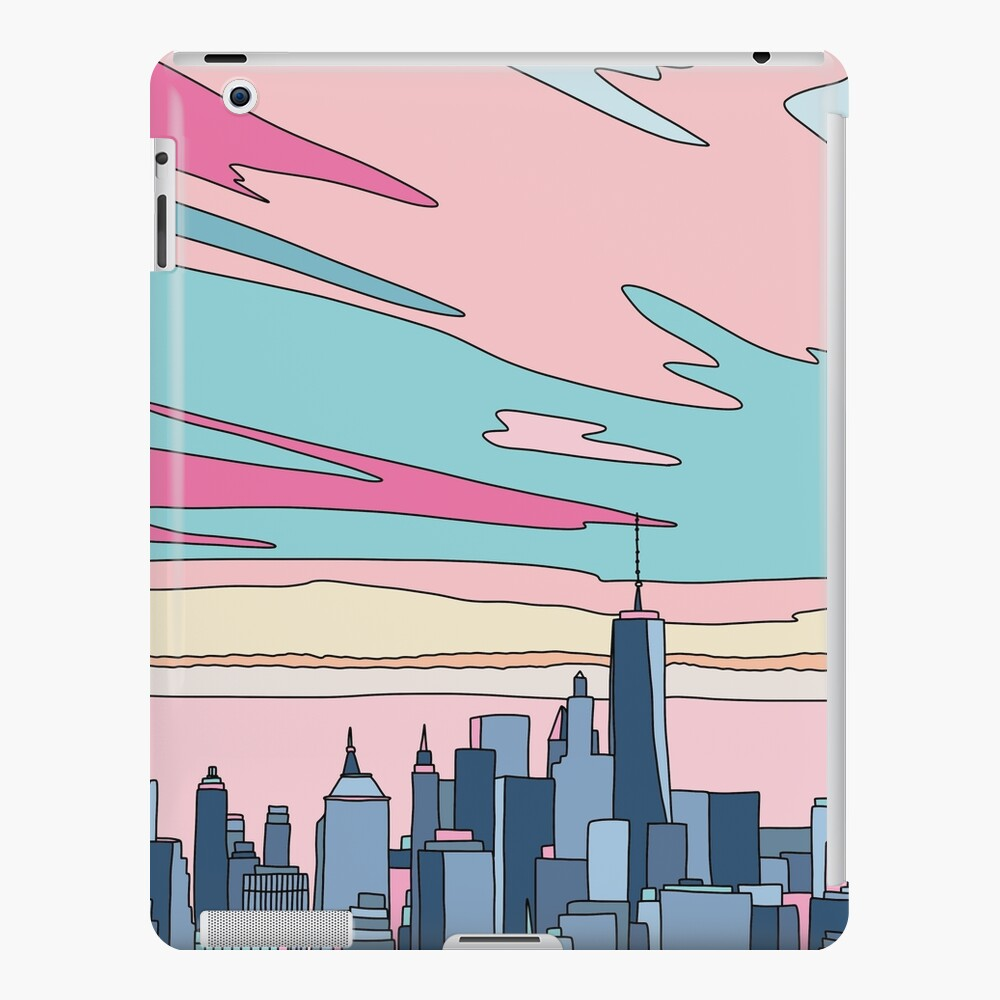 City sunset by Elebea iPad Case & Skin