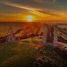 Hadleigh Castle Sunrise 1 by Peter Barrett