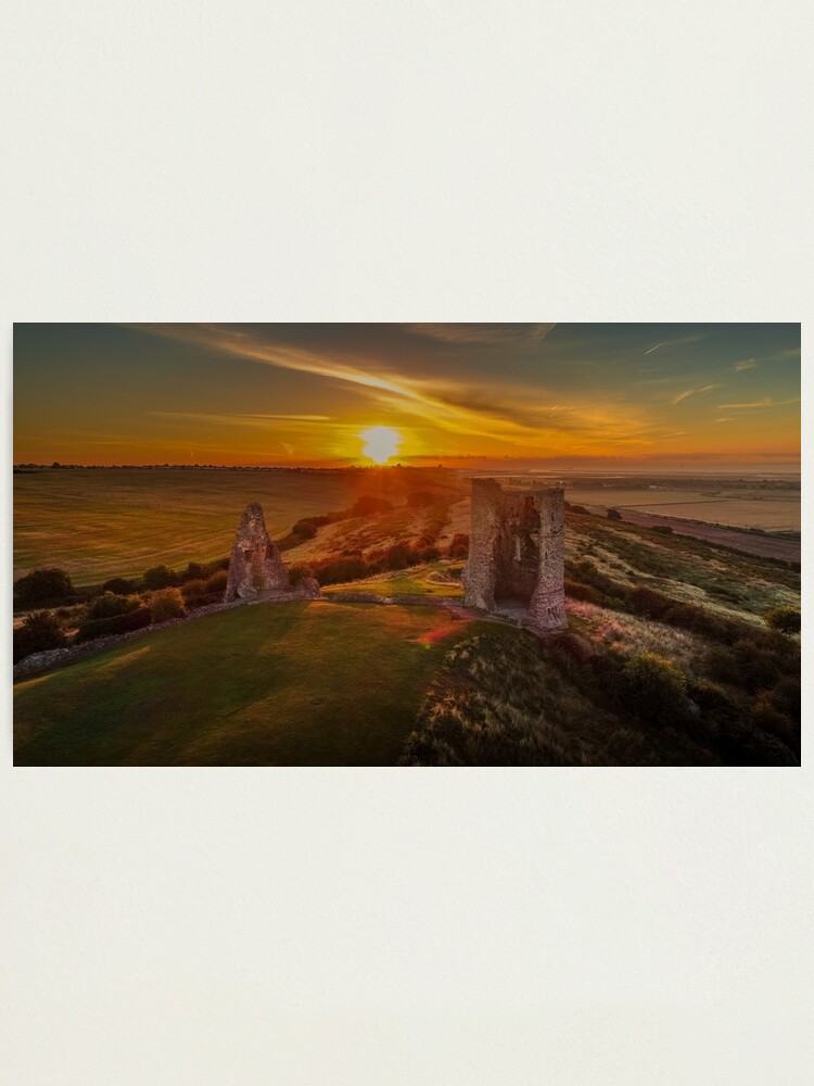 Alternate view of Hadleigh Castle Sunrise 1 Photographic Print