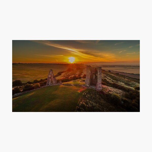 Hadleigh Castle Sunrise 1 Photographic Print
