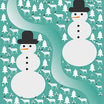 Winter scene by cocodes