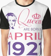 It's My Birthday 97. Made In April 1921. 1921 Gift Ideas. Graphic T-Shirt