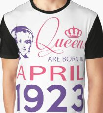 It's My Birthday 95. Made In April 1923. 1923 Gift Ideas. Graphic T-Shirt