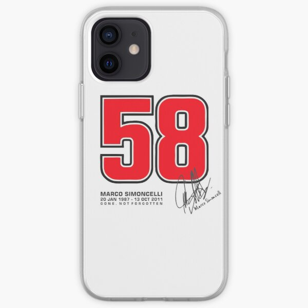 SUPER SIC 58 HOMMAGE Coque souple iPhone