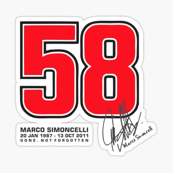 SUPER SIC 58 HOMMAGE Sticker