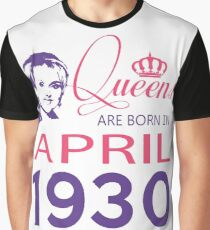 It's My Birthday 88. Made In April 1930. 1930 Gift Ideas. Graphic T-Shirt