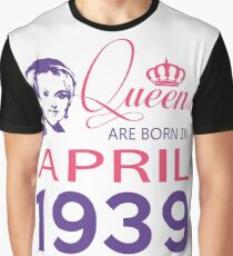 It's My Birthday 79. Made In April 1939. 1939 Gift Ideas. Graphic T-Shirt