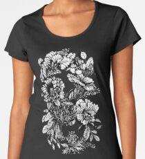 Hibiscus Flower Infinity  Women's Premium T-Shirt