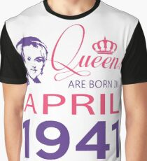 It's My Birthday 77. Made In April 1941. 1941 Gift Ideas. Graphic T-Shirt