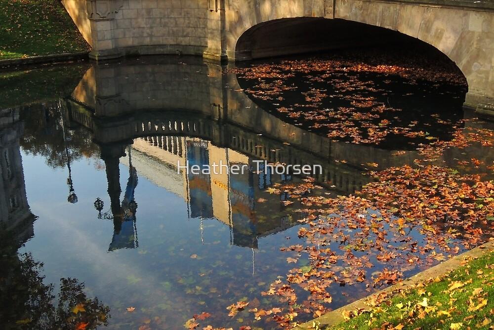 Autumn in Dusseldorf by Heather Thorsen