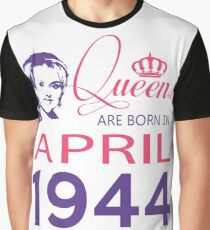 It's My Birthday 74. Made In April 1944. 1944 Gift Ideas. Graphic T-Shirt