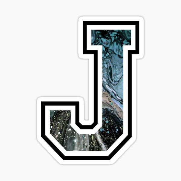 Varsity Letter J. Sticker