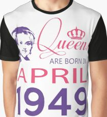 It's My Birthday 69. Made In April 1949. 1949 Gift Ideas. Graphic T-Shirt