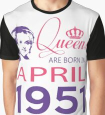 It's My Birthday 67. Made In April 1951. 1951 Gift Ideas. Graphic T-Shirt