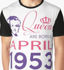 It's My Birthday 65. Made In April 1953. 1953 Gift Ideas. Graphic T-Shirt
