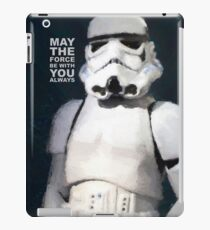 Trooper Force - painted portrait by Brian Vegas iPad Case/Skin