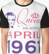 It's My Birthday 57. Made In April 1961. 1961 Gift Ideas. Graphic T-Shirt