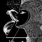Art Nouveau - the Flower (dark) by thelostsigil
