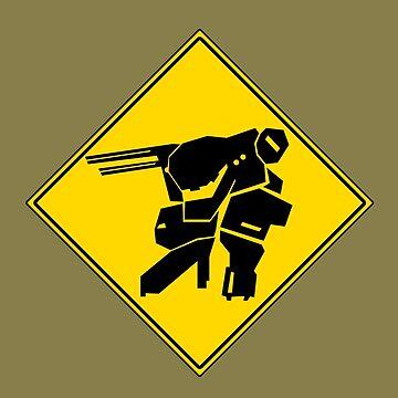 Bipedal Walking Tank X-ing by Shonkie