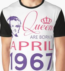 It's My Birthday 51. Made In April 1967. 1967 Gift Ideas. Graphic T-Shirt