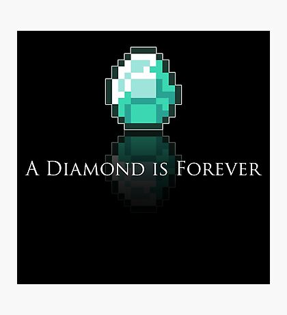 A Diamond is Forever Photographic Print